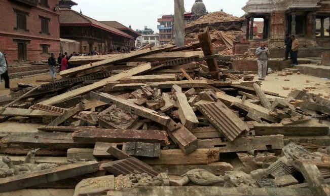 Earthquake in Nepal  A...