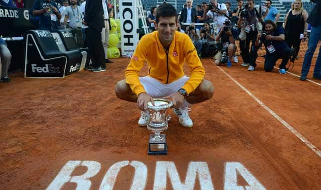 Rome Masters 2015: Novak Djokovic trumps Roger Federer to win fourth Italian Open title
