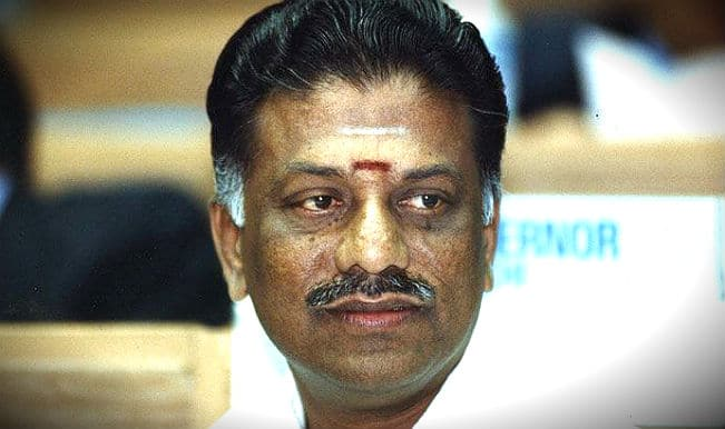 Tamil Nadu chief minister O. Panneerselvam may resign soon
