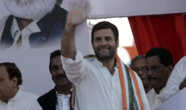 राहुल ने पूर्व सैनिकों से मुलाकात की
