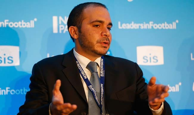 Prince Ali has done Jordan proud, says JOC President following FIFA presidential election defeat