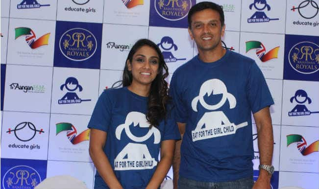 "Rajasthan Royals IPL 2015 Team to ""Bat for the Girl Child"""