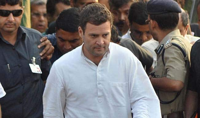 Rahul Gandhi worried about sinking base of Congress, not farmers, retorts BJP