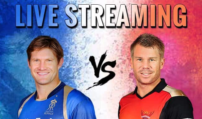 Rajasthan Royals vs Sunrisers Hyderabad, IPL 2015: Watch Free Live Streaming and Telecast of RR vs SRH on Star Sports Online