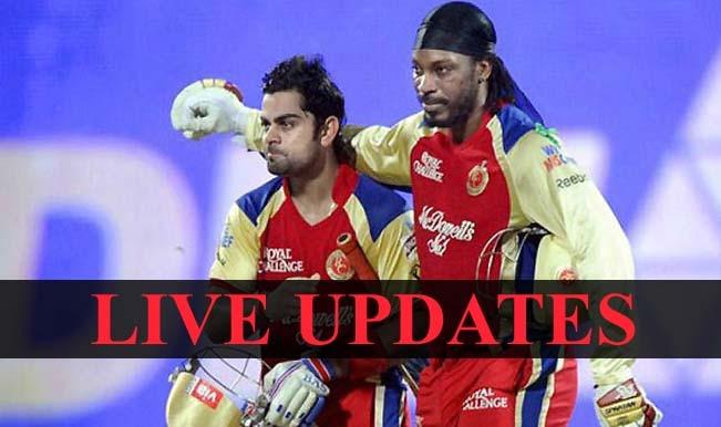 RCB win by 138 runs, Chris Gayle is Man of the Match | Live Cricket Score Updates Royal Challengers Bangalore vs Kings XI Punjab, IPL 2015
