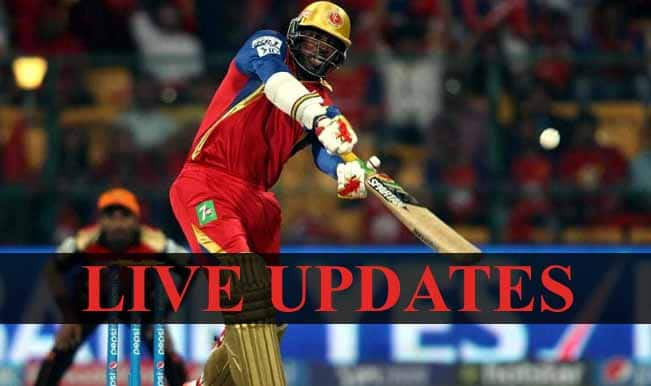 RCB won by 6 wickets, Virat Kohli is Man of the Match | Live Cricket Score Updates Sunrisers Hyderabad vs Royal Challengers Bangalore, IPL 2015