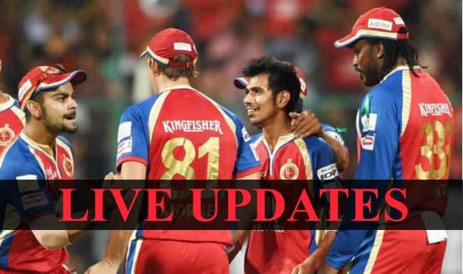 Match called-off | Live Cricket Score Updates Royal Challengers Bangalore vs Delhi Daredevils, IPL 2015