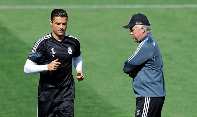 Cristiano Ronaldo gave his best this season: Carlo Ancelotti