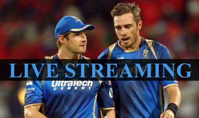 Mumbai Indians vs Rajasthan Royals, IPL 2015: Watch Free Live Streaming and Telecast of MI vs RR on Star Sports Online