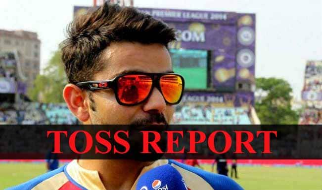 Chennai Super Kings vs Royal Challengers Bangalore, IPL 2015 Toss Report and Playing XI: CSK win toss, opt to bat first