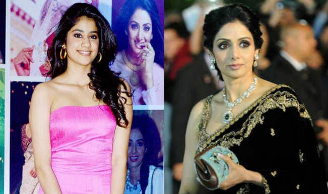 Sridevi performs puja for daughter at Kalahasti temple