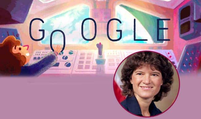 Google doodle marks US astronaut Sally Ride's 64th birth anniversary
