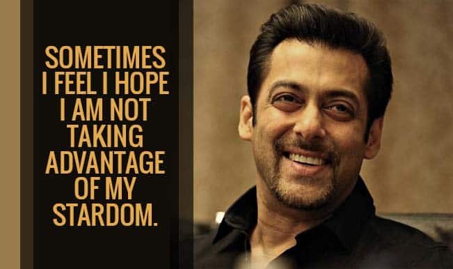 Free Thought Quotes From Movies: Salman Khan Surprises With 10 Thought-provoking Quotes