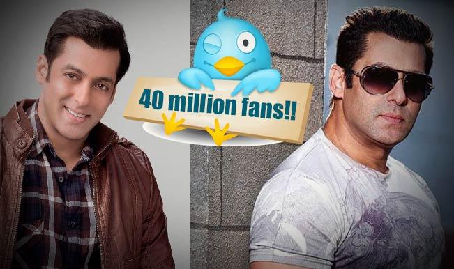 #40MSalmaniacsOnSocialMedia: Is Salman Khan the most followed star on social media?