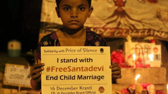 Women Need Voice and Choice to end Child Marriage in India #FreeSantaDevi