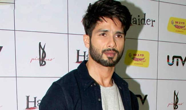 Why is Shahid Kapoor shooting for Udta Punjap despite being down with fever?