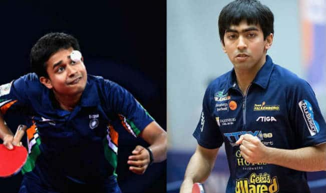 Paddlers Soumyajit Ghosh, Harmeet Desai win in Philippines Open