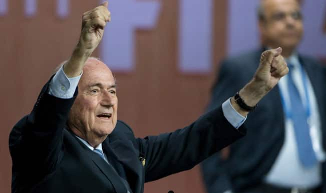 Pleased with Sepp Blatter's re-election as FIFA president: Russian Sports Minister
