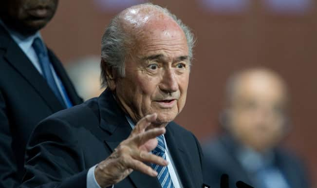Re-elected FIFA president Sepp Blatter slams hate campaign