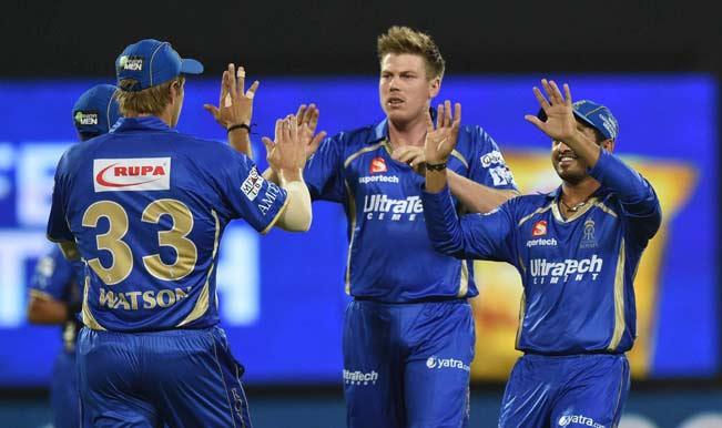 आईपीएल-8 : रॉयल्स ने नाइट राइडर्स को 9 रनों से हराया