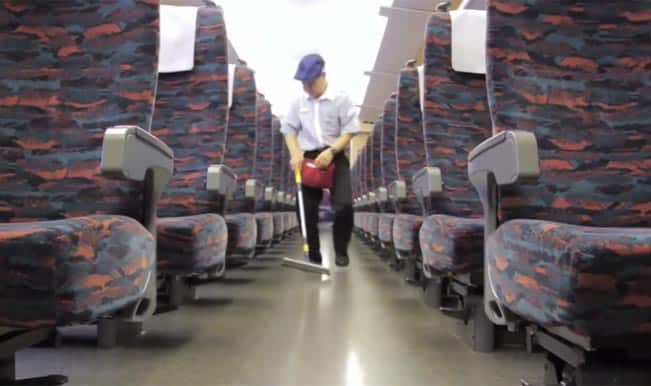 How Japanese crew clean the Shinkansen trains in seven minutes flat – Watch Video!
