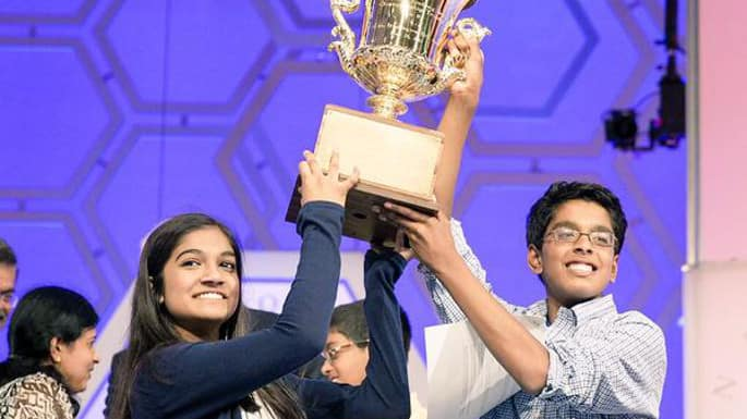 Two Indian-American Kids Tie in the Scripps National Spelling Bee, And we Couldn't be More Proud
