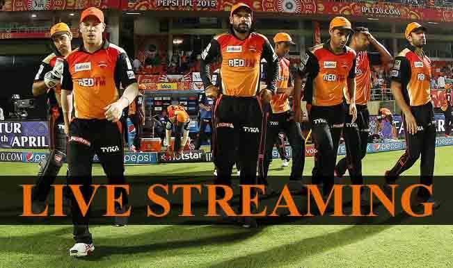 Kolkata Knight Riders vs Sunrisers Hyderabad, IPL 2015: Watch Free Live Streaming and Telecast of KKR vs SRH on Star Sports Online