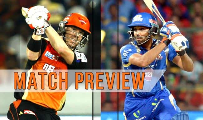 Sunrisers Hyderabad vs Mumbai Indians, IPL 2015 Match 56 Preview: Do or die for both SRH & MI