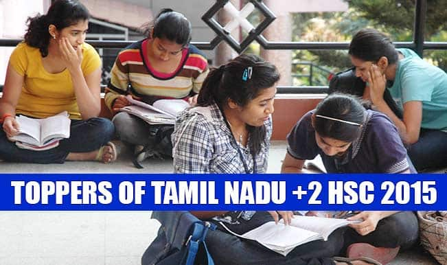 Tamil Nadu Board Class 12 results 2015 at tnresults.nic.in: Toppers of +2 HSC results 2015 on official website