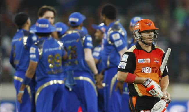 Mumbai Indians seal final play-off berth with an easy win over Sunrisers Hyderabad