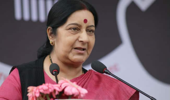 External Affairs Minister Sushma Swaraj, Fiji Prime Minister Discuss Defence Cooperation