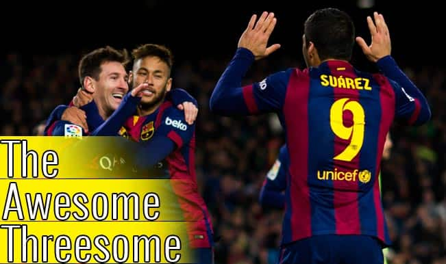 Lionel Messi-Luis Suarez-Neymar & 5 striker trios that shook the footballing world