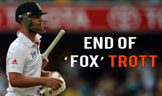 Jonathan Trott: England's most reliable soldier lays down his 'arms'