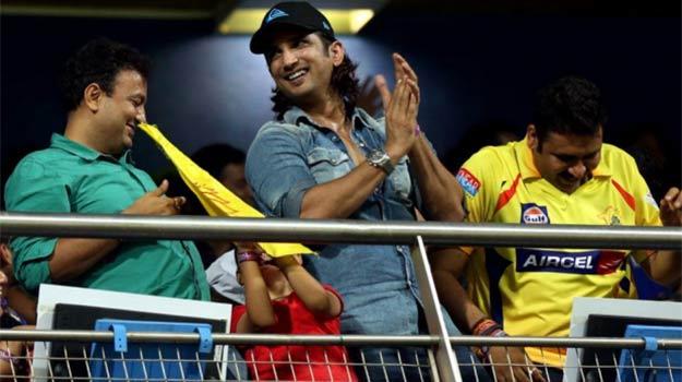 IPL 2015: Is Sushant Singh Rajput chasing Mahendra Singh Dhoni?