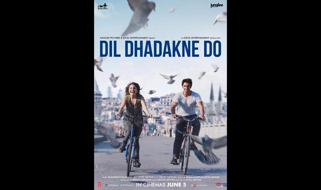 Ranveer Singh and Anushka Sharma look super-cute on Dil Dhadakne Do new poster!