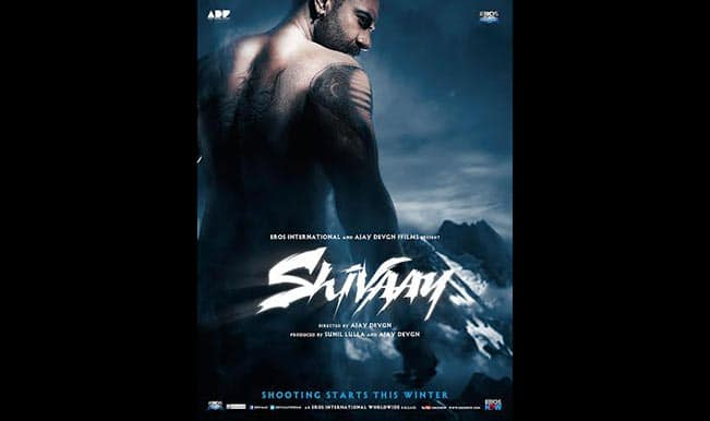 Ajay Devgn's Shivaay first look: An interesting mix of Singham and Saawariya? (Watch motion poster)