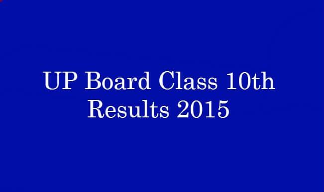 Upresults.nic.in & Upmsp.nic.in 2015 UP Board Class 10th results announced on website: UP Board High School (10th) & Intermediate (12th) Results Declared