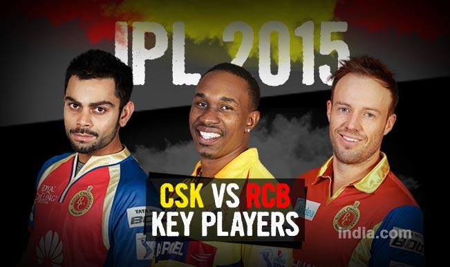 Chennai Super Kings vs Royal Challengers Bangalore, IPL 2015 Qualifier 2 Match: Virat Kohli, Dwayne Bravo among five key players in CSK vs RCB clash
