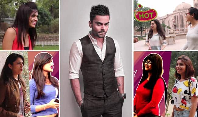 One-night stand with Virat Kohli – Watch Delhi girls go gaga over RCB skipper!