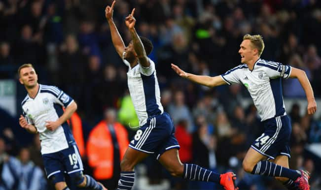 Chelsea battered 3-0 by West Bromwich Albion in Barclays Premier League 2014-15