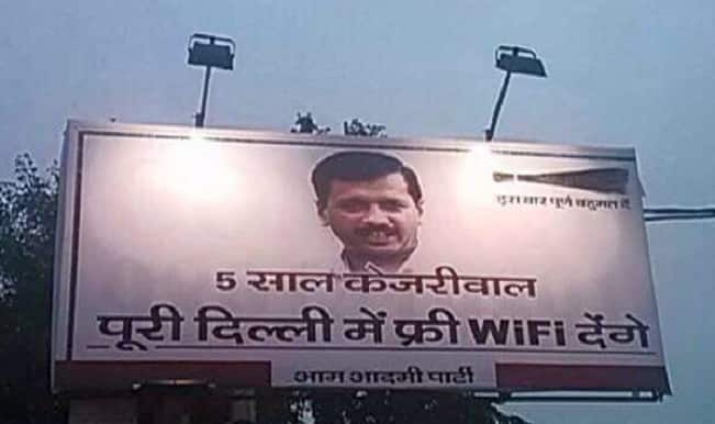 AAP-led Delhi government announces free WiFi on limited data usage basis
