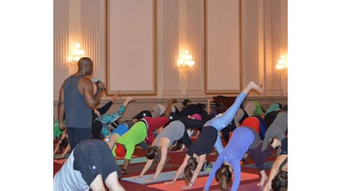 Yoga Fever Reaches Capitol Hill