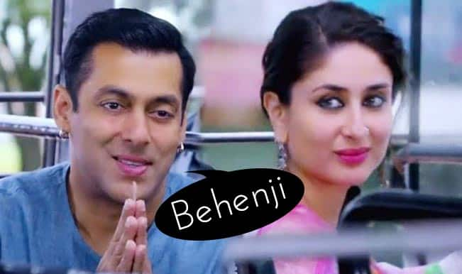 Salman Khan calling Kareena Kapoor Khan 'Behenji' is cutest moment from Bajrangi Bhaijaan trailer!