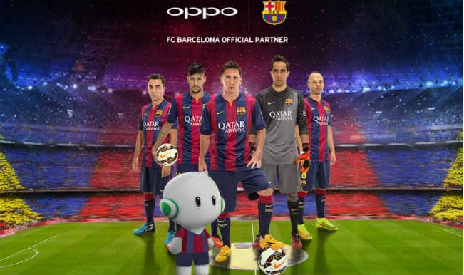 FC Barcelona sign up partnership with OPPO Mobile