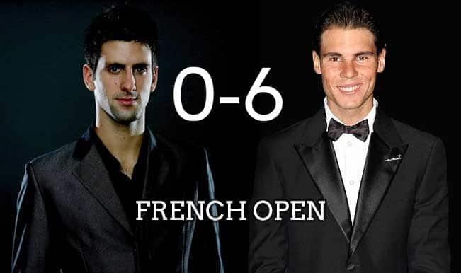 Novak Djokovic-Rafael Nadal Rivalry, French Open 2015 Prediction: A look at previous match results at Roland Garros