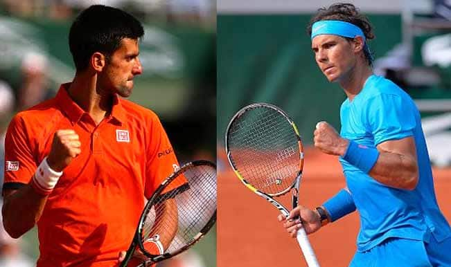 Novak Djokovic vs Rafael Nadal, French Open 2015: Free Live Streaming, Tennis Match Telecast and Score Predictions of Quarterfinal