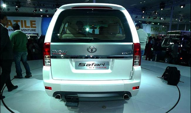 Tata Motors launches new Safari Storme priced at Rs 9.99 lakh