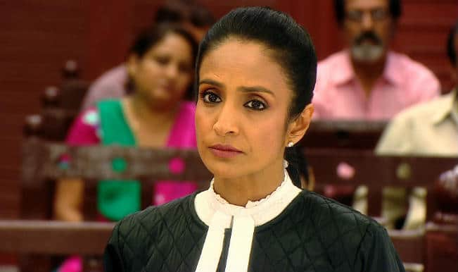 Suchitra Pillai: Playing lawyer on-screen makes me feel