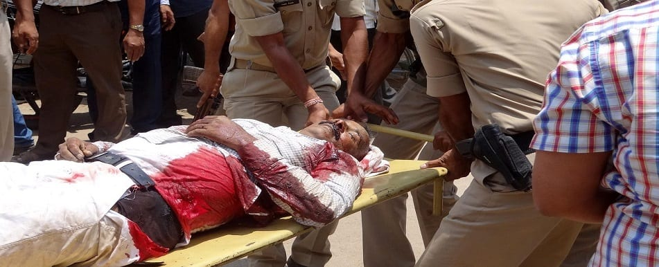 Firing in Jharkhand Court premises, three killed