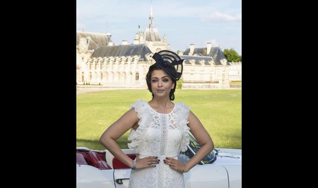 Aishwarya Rai Bachchan spotted at Longines Dolce Vita launch in Chantilly (Video)